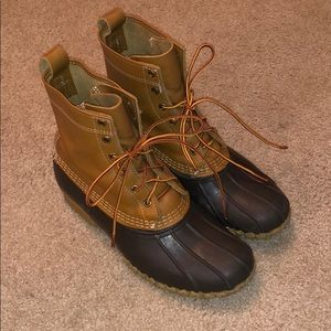 Women's L.L. Bean Boots Tan/Brown